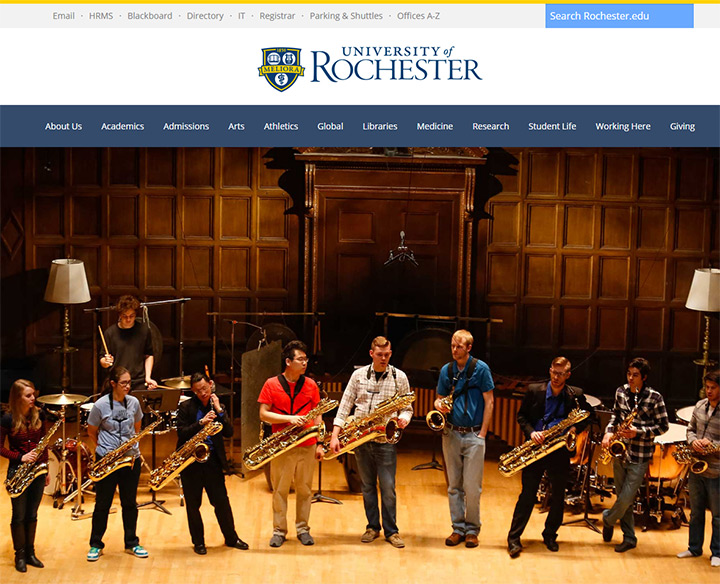 rochester uni website
