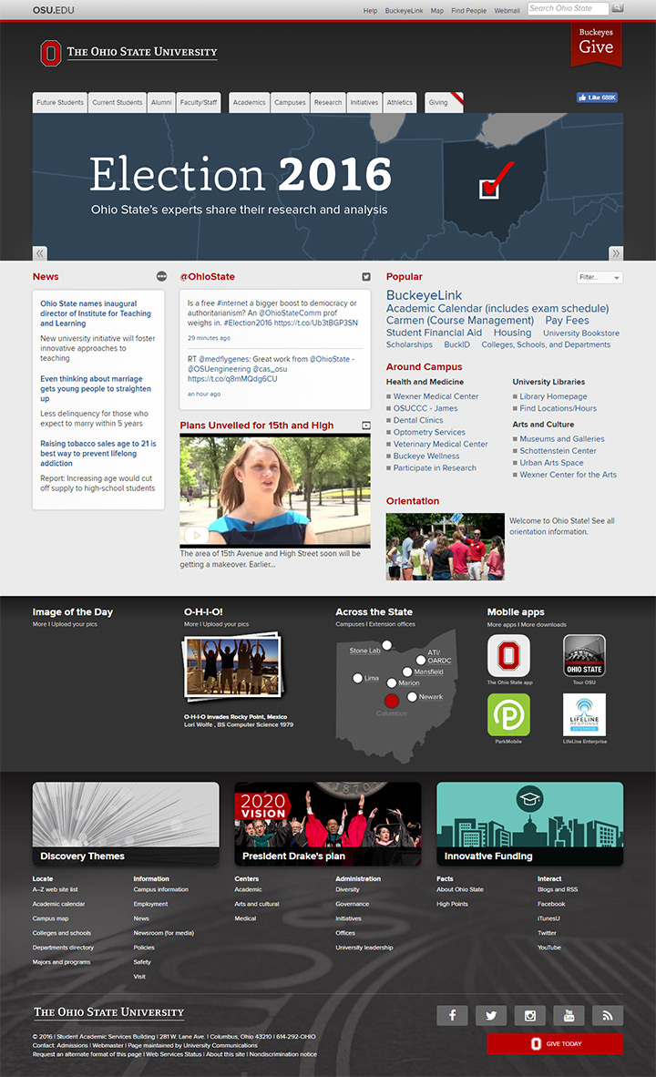 ohio state uni site