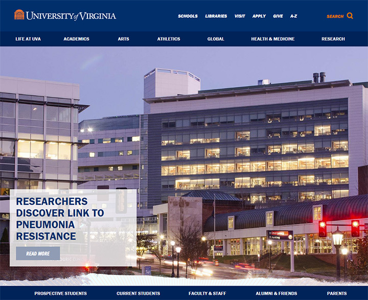 university of virginia site