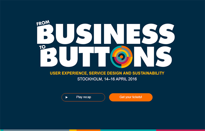 from business to buttons conference
