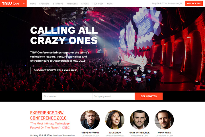 tnw next web conference website