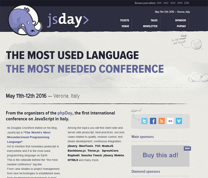 jsday italy 2016 conference