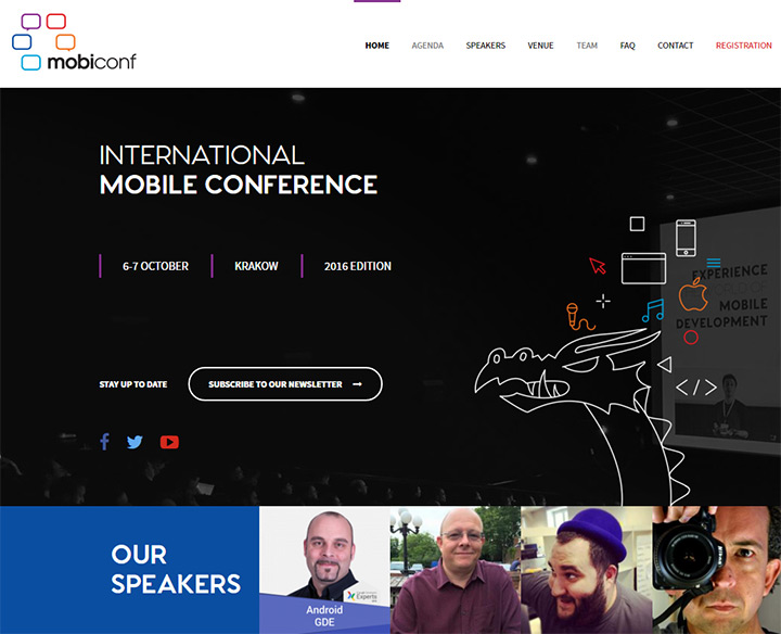 mobiconf website conference