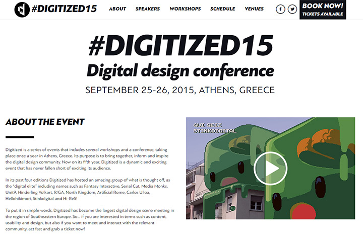 digitized conference 2015 website