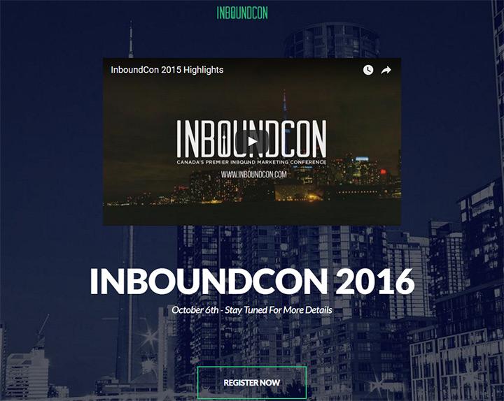 inbound conference website