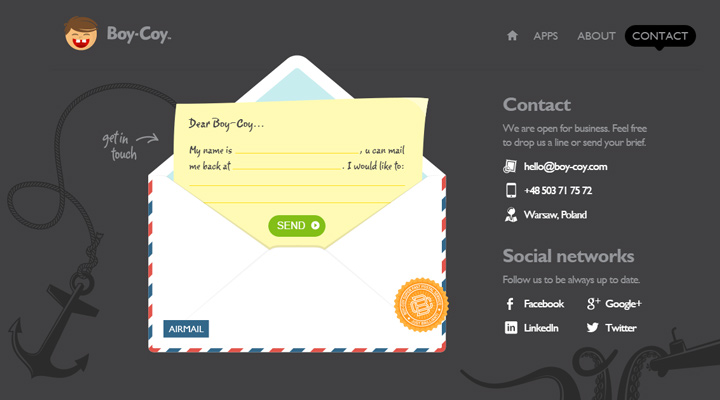 100 Contact Form Pages For Design Inspiration