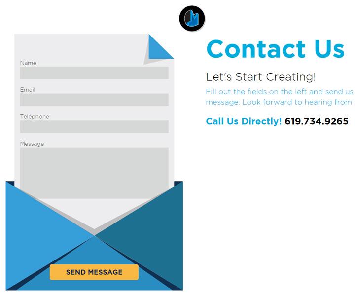 creative mob contact form