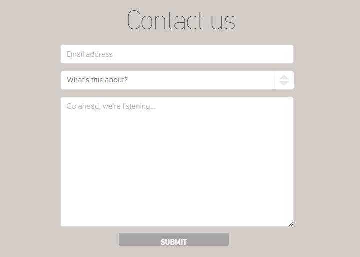 zendesk contact form