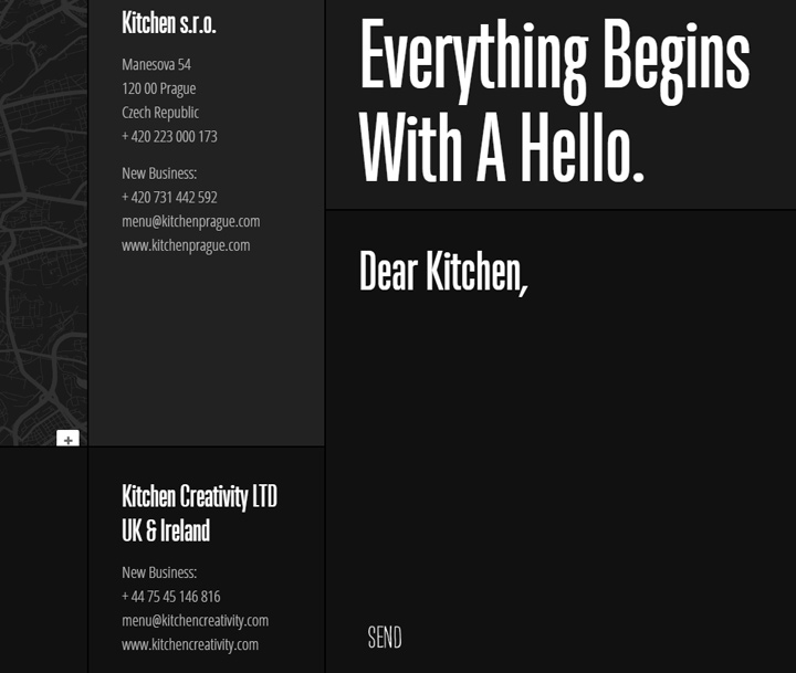 kitchen agency contact form