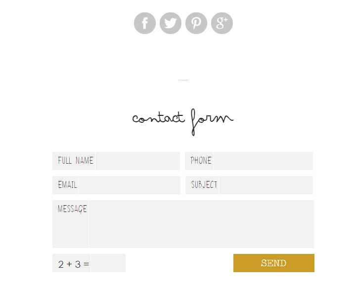 infinpixels contact form
