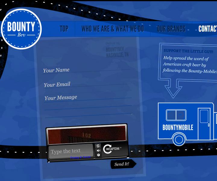bountybev contact form