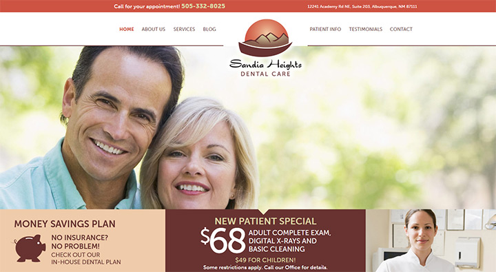 sandia heights dental