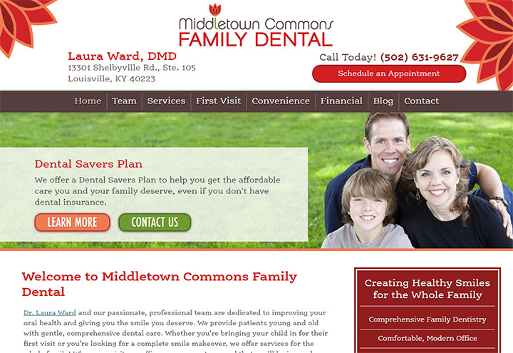 middletown commons family dental
