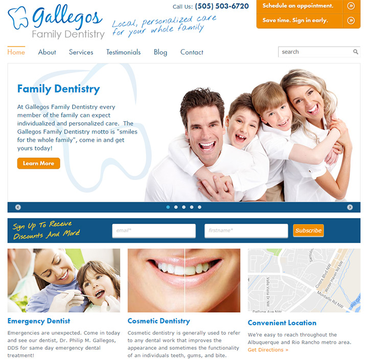 gallegos family dentist