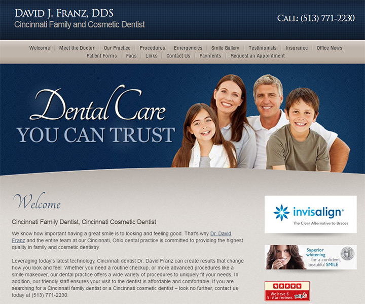 david j ranz dentist