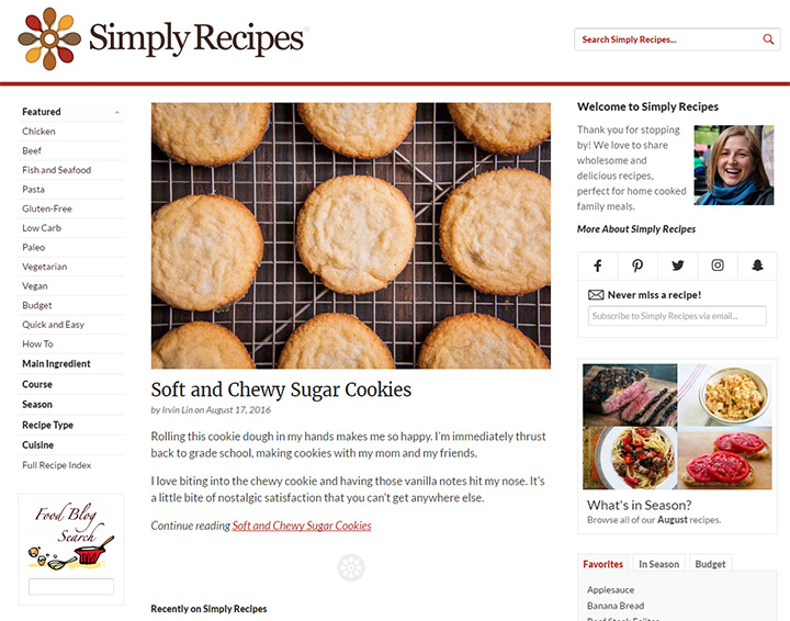 simply recipes