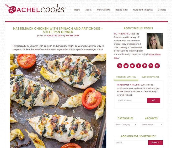 rachel cooks