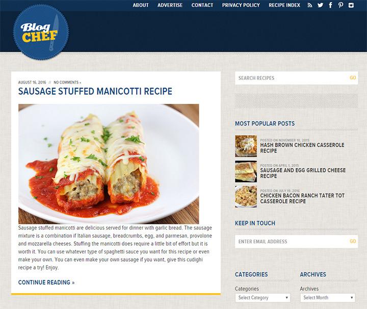 blog chef
