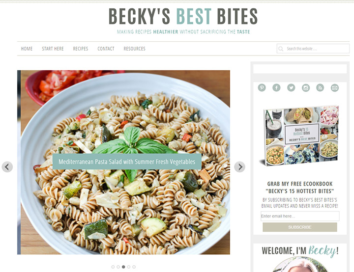 beckys bites blog