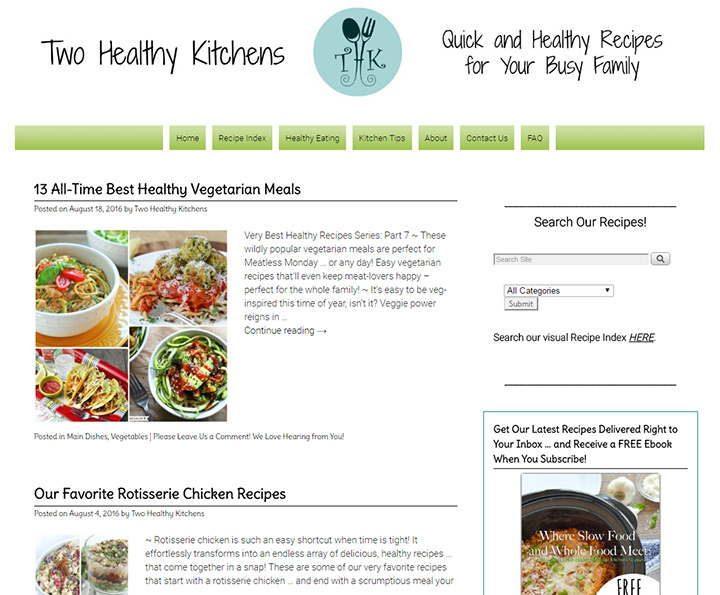 200 best cooking food blogs the ultimate collection for ideas two healthy kitchens forumfinder Gallery