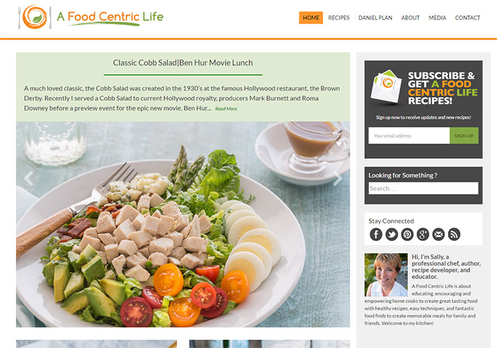 food centric life blog