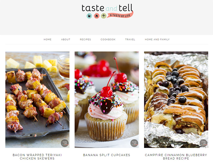 taste and tell blog