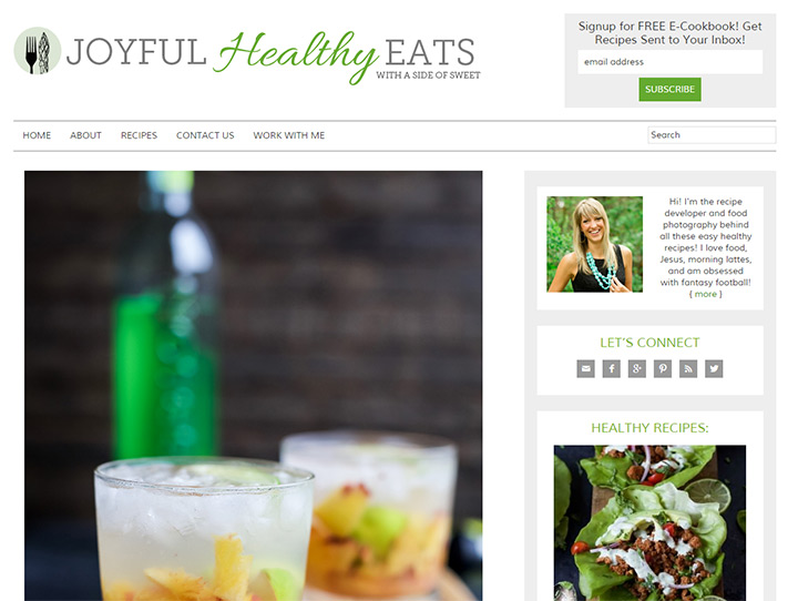 joyful healthy eats blog