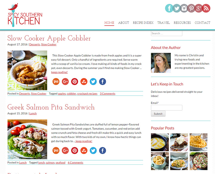spicy southern kitchen blog