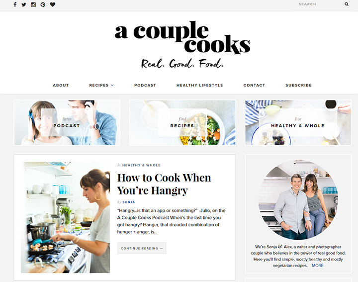 couple cooks blog