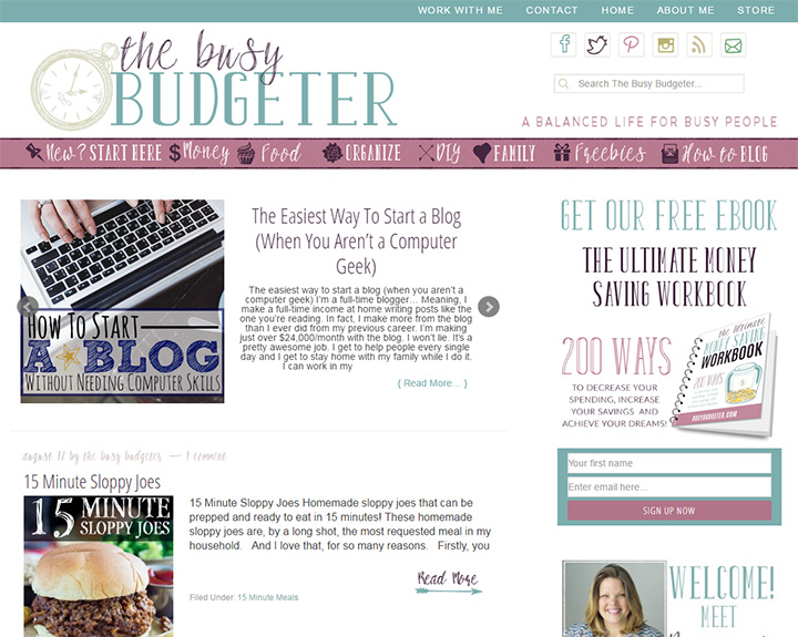 busy budgeter blog