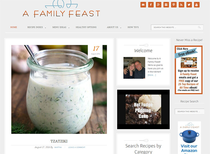 family feast blog
