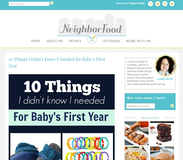 neighborfood blog
