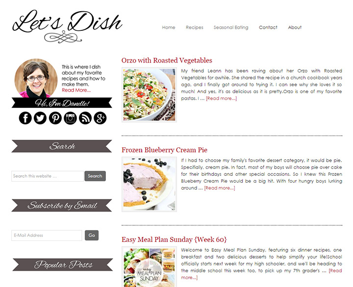 lets dish recipes