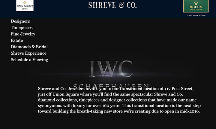 shreve jewelers