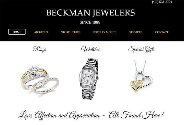 beckman jewelers