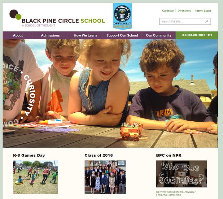 black pine circle school