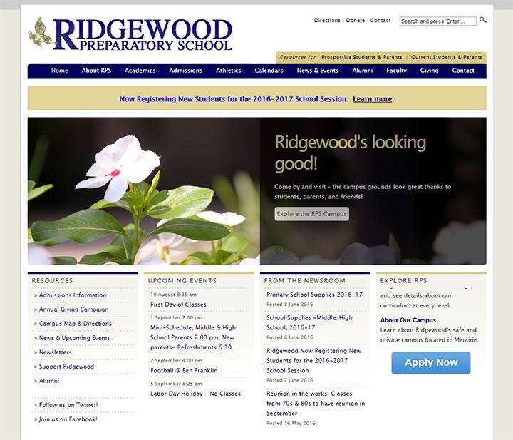 ridgewood prep school