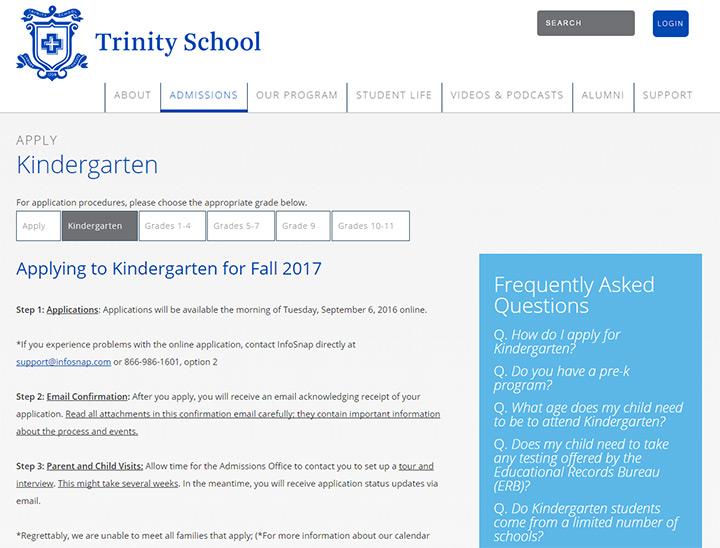 trinity school nyc