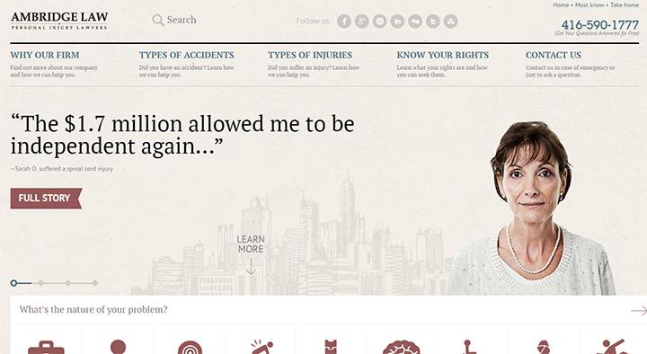 ambridge law firm website
