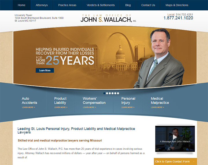 john wallach law firm website