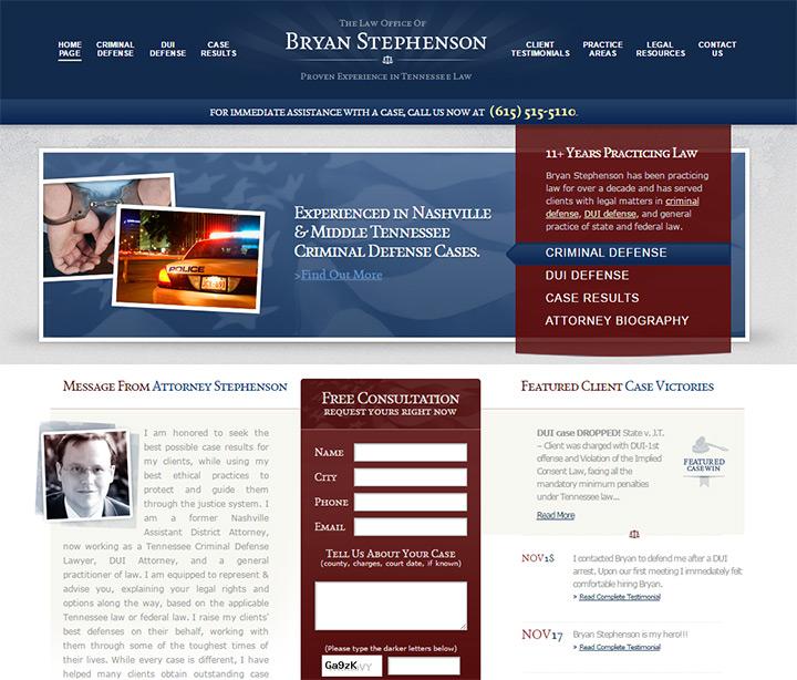 bryan stephenson law firm