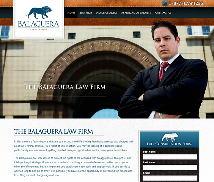 balaguera law firm website