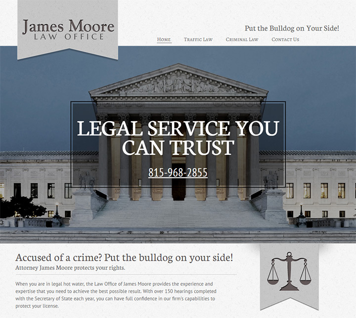 james moore law website