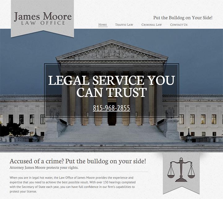 james moore law website