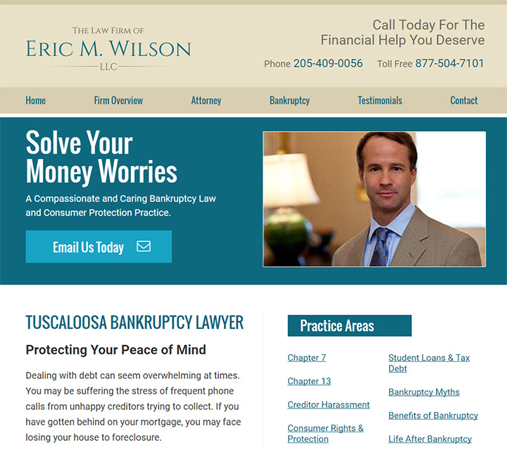 eric wilson llc law firm