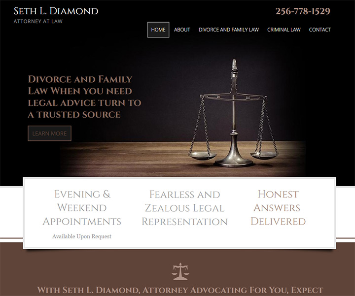 seth diamond attorney website