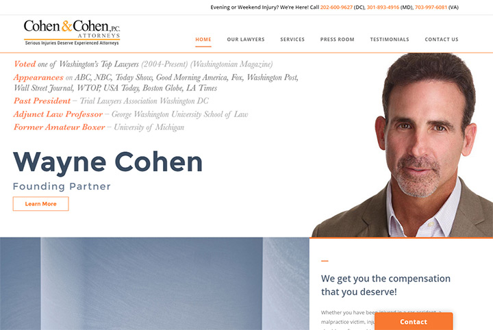cohen law firm website