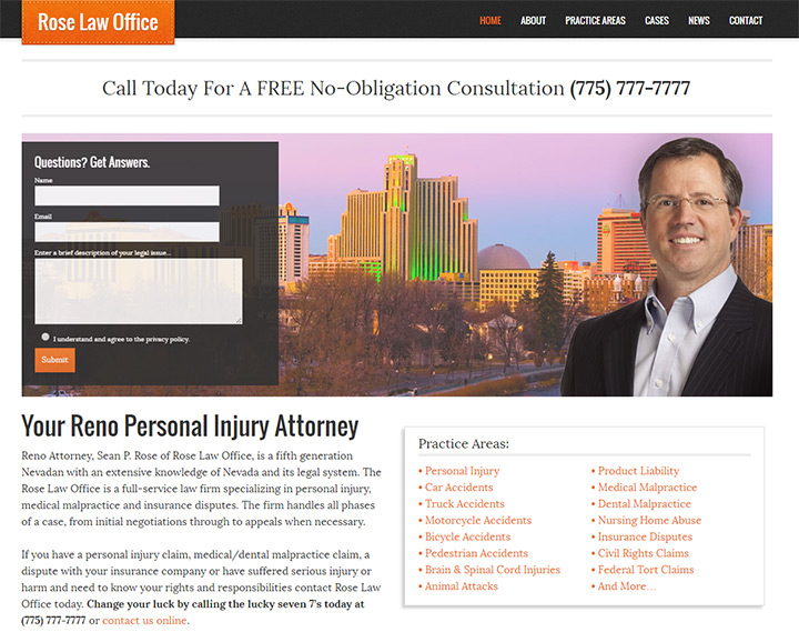 rose law firm website