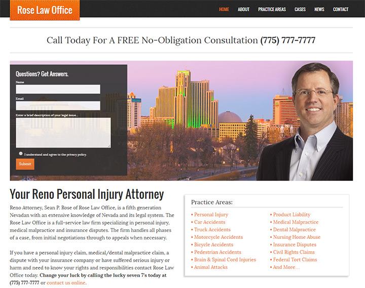 rose law firm website