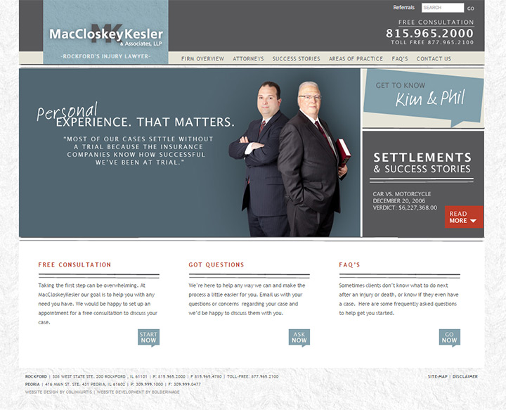 maccloskey kesler law firm website